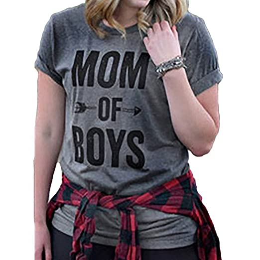 Mom of Boys Tee Shirt