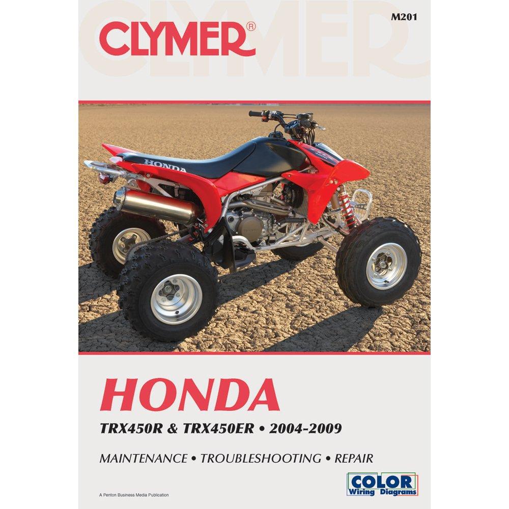 Amazon.com: 2004-2009 Honda TRX450R TRX450ER Clymer Repair Manual:  Manufacturer: Automotive