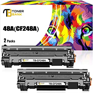Toner Bank Compatible Toner Cartridge Replacement for HP 48A CF248A M29w M15w Toner Cartridge HP Laserjet Pro MFP M29w M28w M28a M29a HP Laserjet Pro M15w M16a M15a M16w Printer Toner Ink