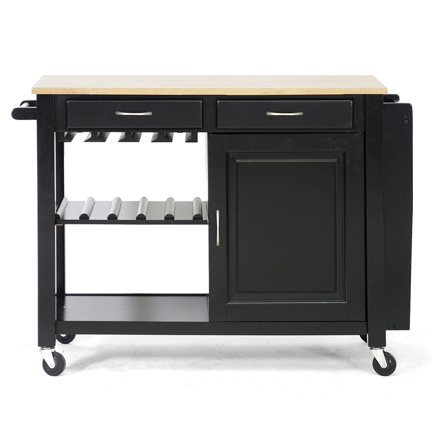 Amazon Baxton Studio Phoenix Modern Kitchen Island with