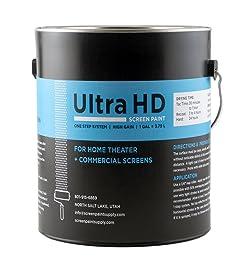 Ultra HD Premium Screen Paint (Gallon)