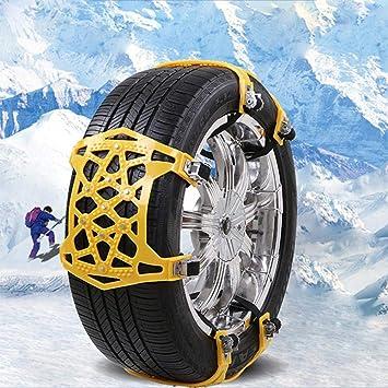 Heimwerker Ketten 10 Stücke Universal Reifen Räder Schnee Ketten Auto Schnee Sicherheit Sicherheit Reifen Notfall Verdickung Winter Anti-skid Ketten