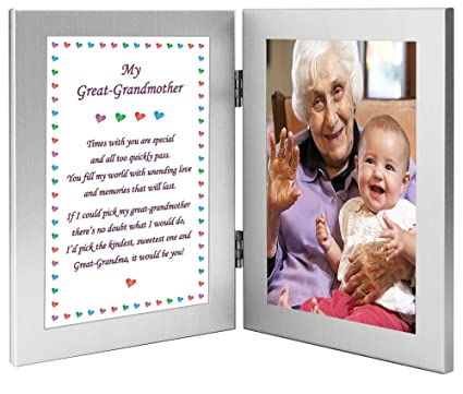 Amazon.com - Gift for Great Grandma - Sweet Poem for Great ...