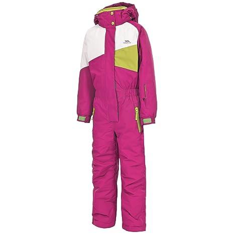 053a2163f Trespass Kids  Wiper Waterproof Windproof Insulated Ski Suit  Amazon ...