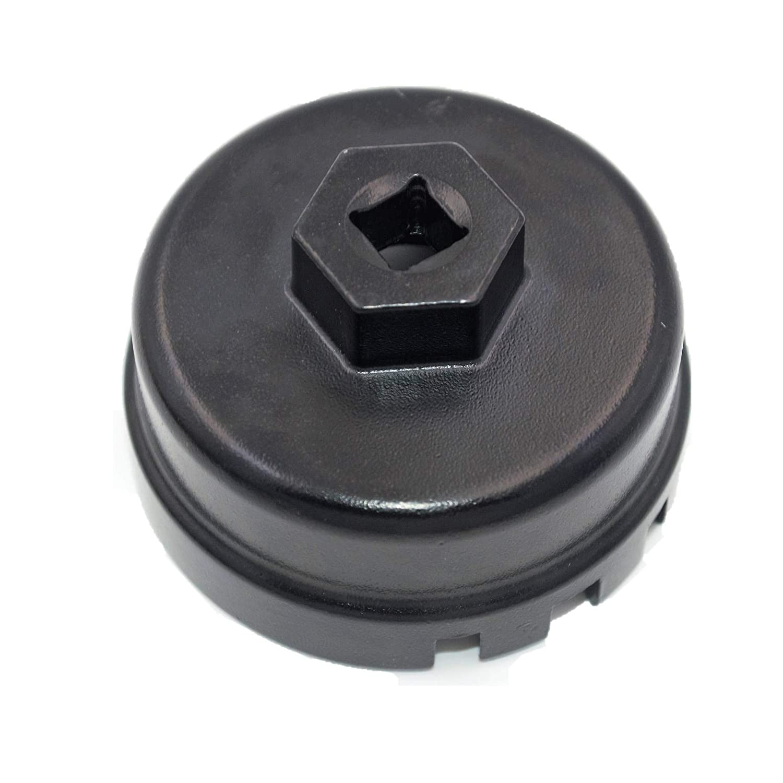 Fun-Driving Oil Filter Wrench for Toyota Prius/Prius V/Corolla/Matrix, Lexus CT200h, Scion iM/iQ/xD with 1.8 Litre