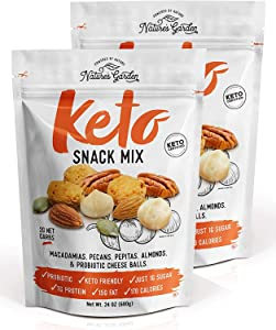 Nature's Garden Keto Snack Mix 24 oz (Pack of 2)