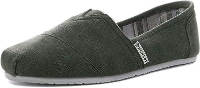 Dunlop - Alpargatas de lona para hombre: Amazon.es: Zapatos y complementos