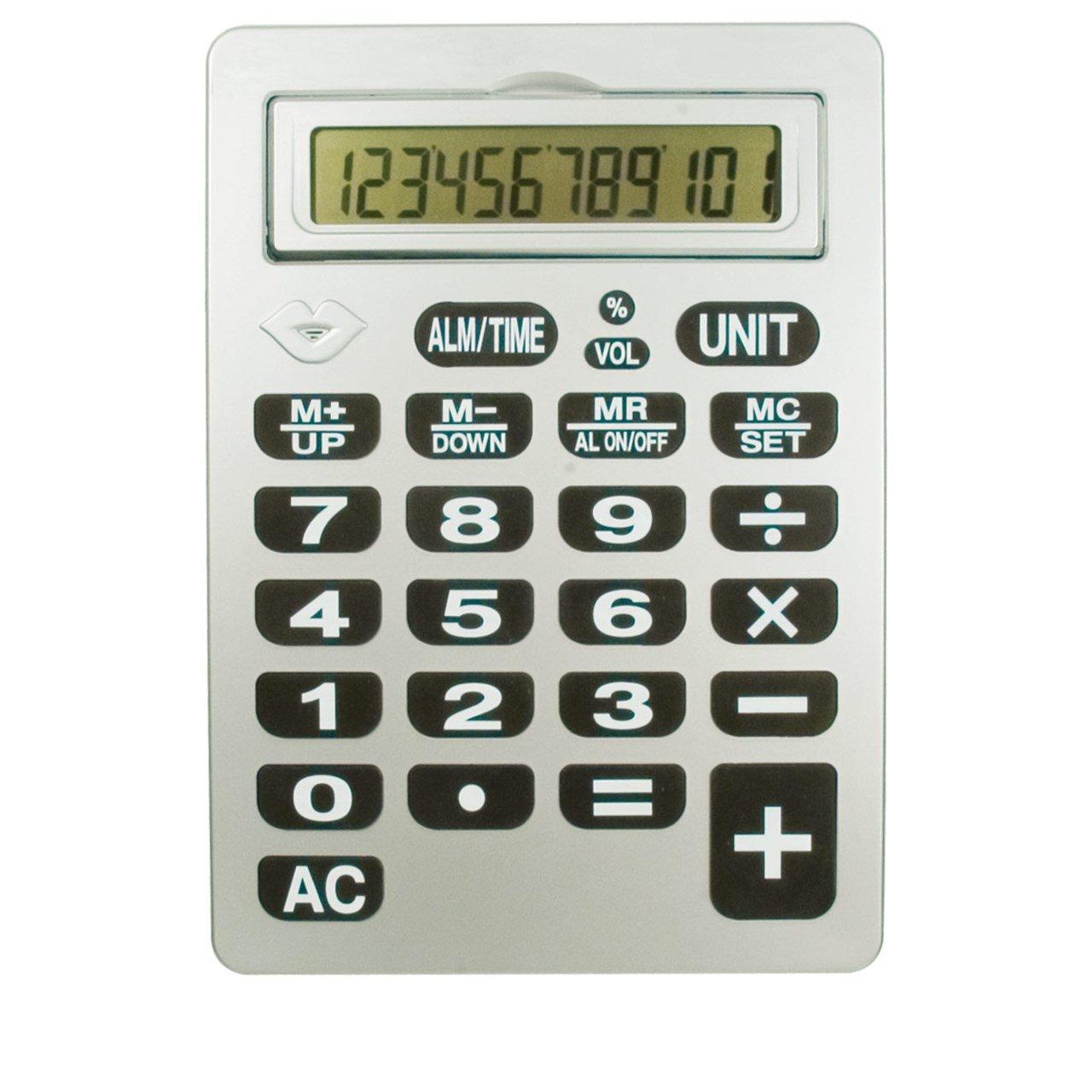 Reizen 12-Digit Jumbo Talking Calculator by Reizen