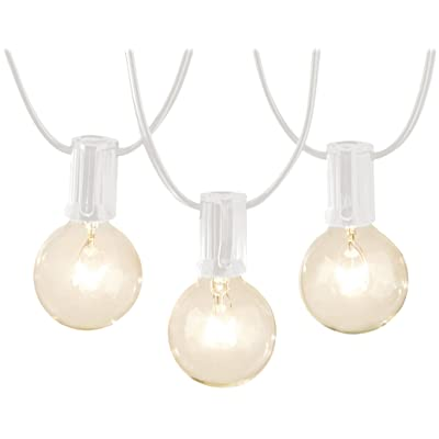 Basics Patio String Light, 50 Feet, White