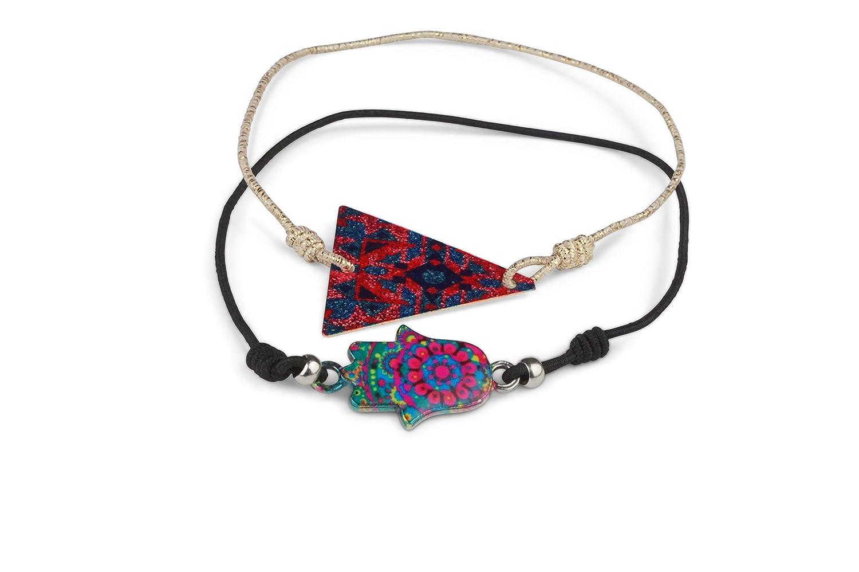 Made by Nami Anklet Set Women's Anklet Anklet Boho Ethnic Colourful Anklet Anklet Festival Set F122
