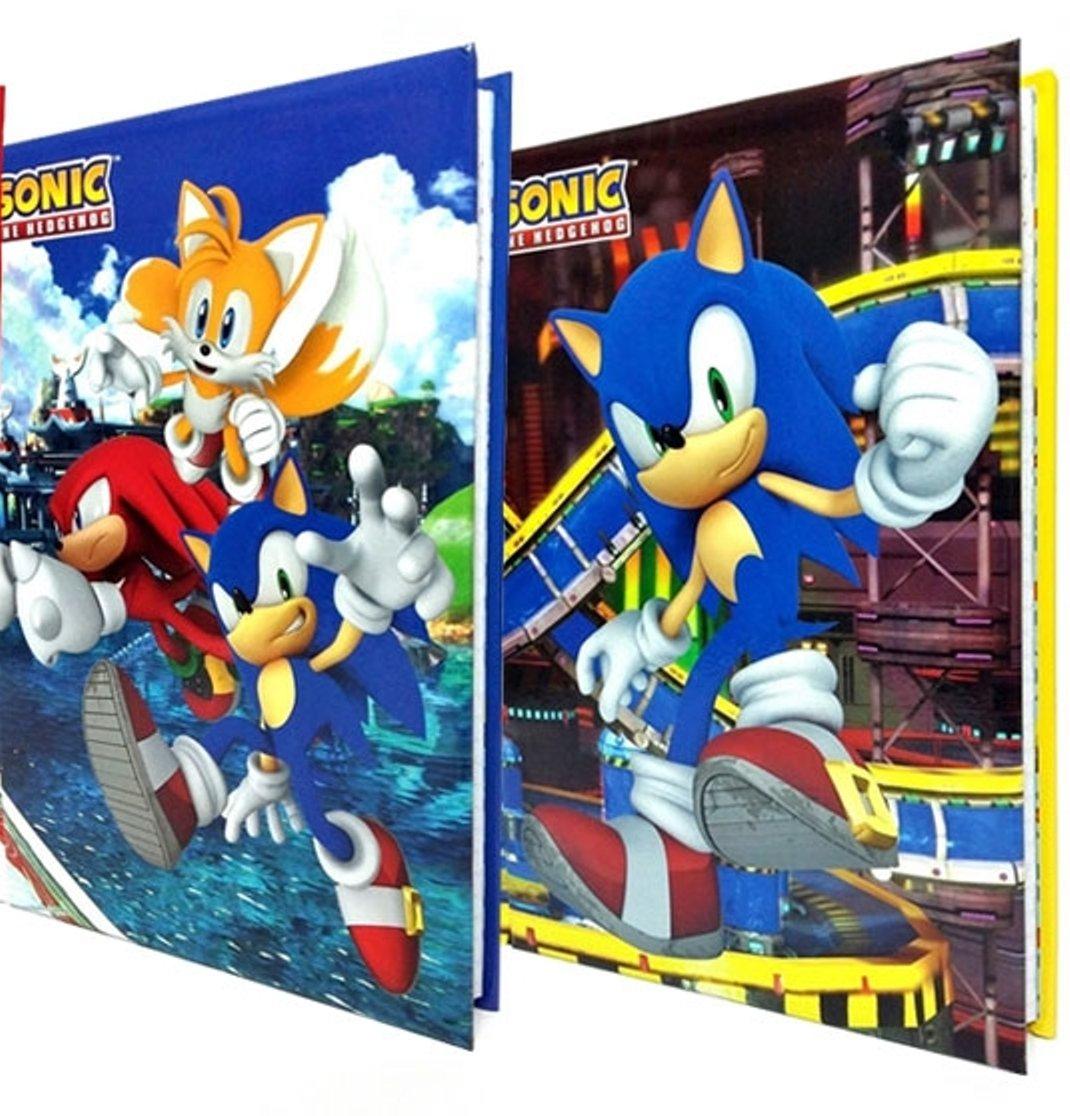 Diario Standard 10M Blu/Rosso Sonic cartorama
