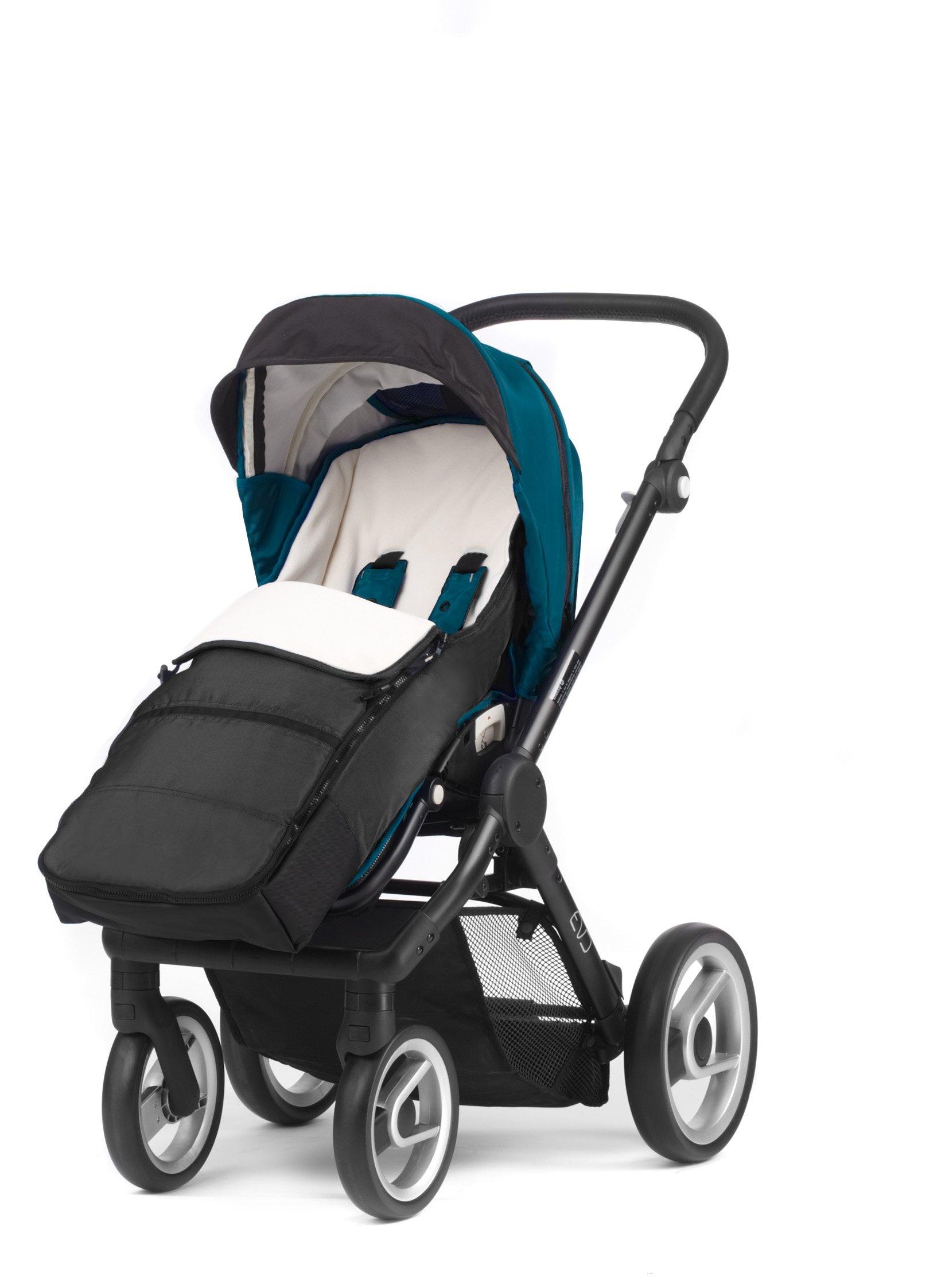 Mutsy Evo Stroller Footmuff, Black