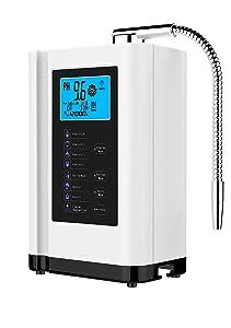 AlkaDrops Water Ionizer, Water Purifier Machine PH 3.5-10.5 Alkaline Acid Water Machine,Up to -500mV ORP, 6000 Liters Per Filter,7 Water Settings,Auto-Cleaning,Intelligent Voice