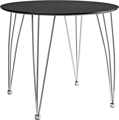 Modway The Surge Dining Table in Black