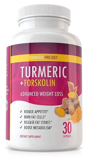 Turmeric Forskolin Pro Diet Weight Loss Turmeric Forskolin Appetite Suppressant To