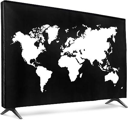 Kwmobile 65 Tv Hülle Fernseher Bildschirmschutz Elektronik