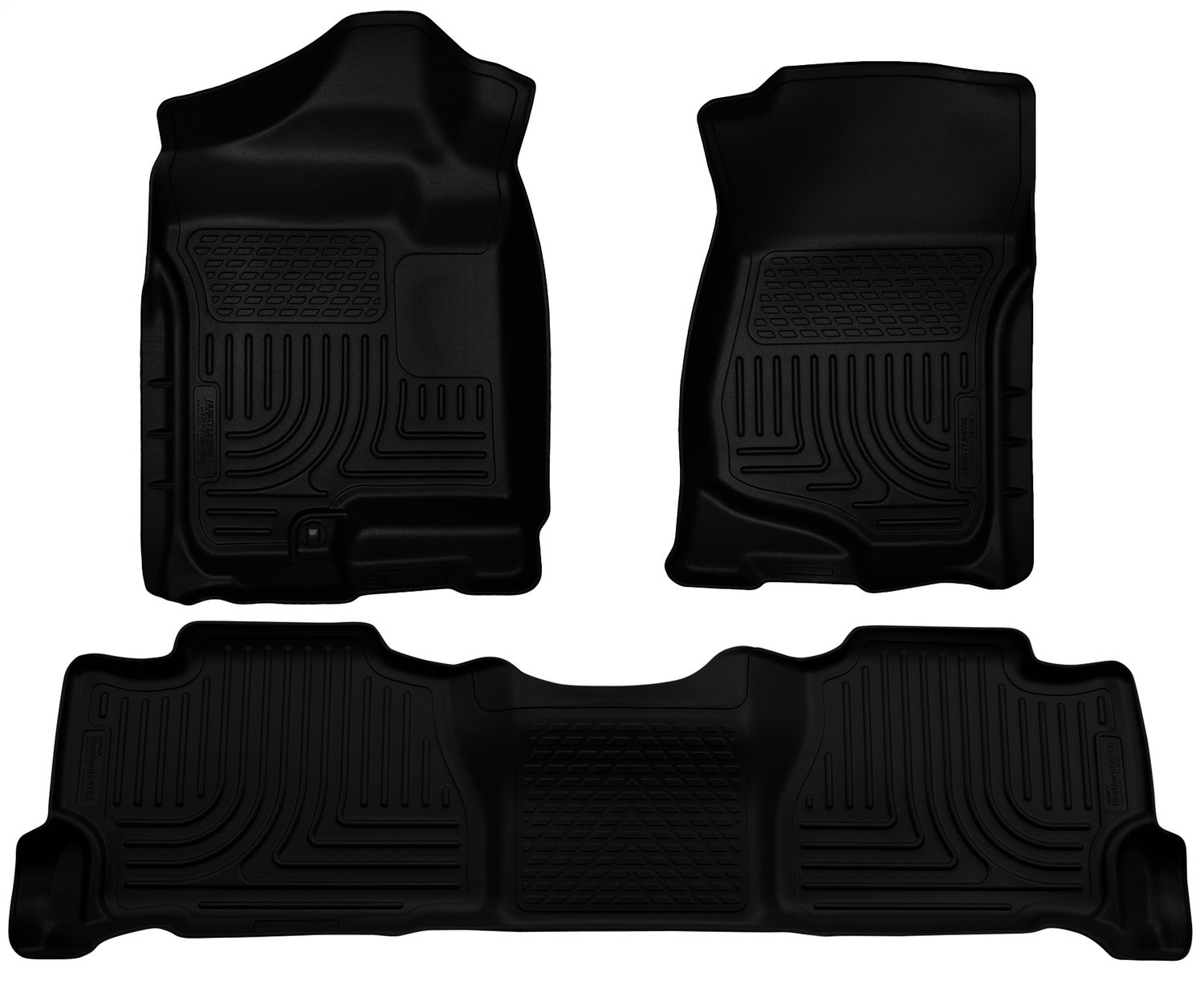 Husky Liners Front & 2nd Seat Floor Liners Fits 07-14 Escalade/Tahoe/Yukon 98251