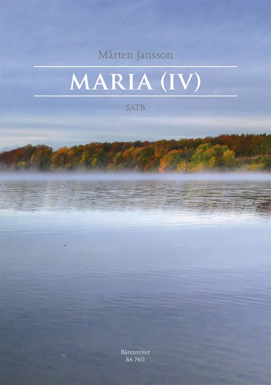 Download Maria (IV) -Här är din himmel-. Chorpartitur pdf epub