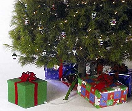 ever green easy real christmas tree watering system gift box style