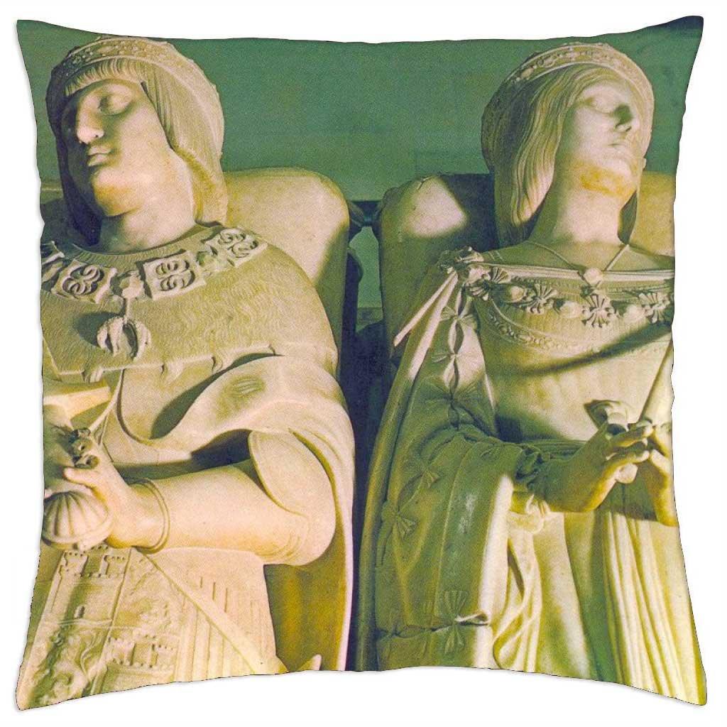 Sepulcro, los Reyes católicos - Funda de cojín (18: Amazon ...