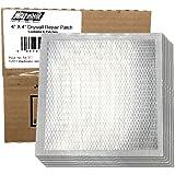 "Wal-Board Drywall Repair Patch - 4"" x 4"" Self Adhesive Mesh w/Aluminum Backing (6-Pack)"