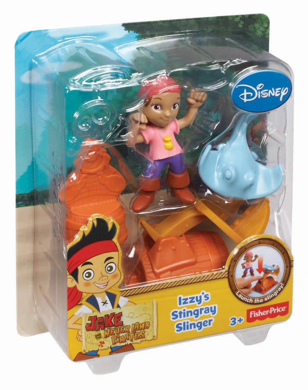 Izzys Stingray Slinger Toy Fisher Price CBF46 Fisher-Price Jake and The Never Land Pirates
