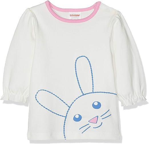 Schnizler Baby-M/ädchen Sweat-Shirt H/äschen Langarmshirt