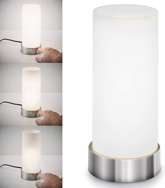 Lámpara de mesa táctil máx. 40 W E14, Altura 245 mm Ø11cm, 4 ...