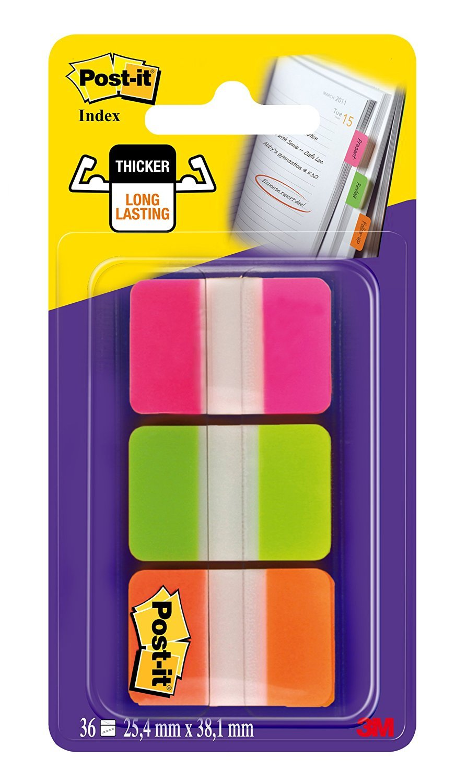 Post- it–Index rigido Post-It 686-PGOEU multicolore 3M