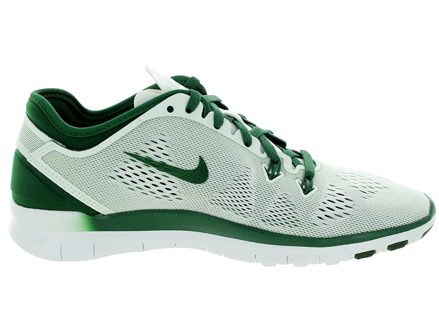 Amazon.com | NIKE Women's Free 5.0 TR Fit 5 White/Gorge Green Training Shoe  6.5 Women US | Fitness & Cross-Training
