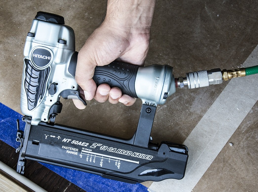 "Hitachi NT50AE2 18-Gauge 5/8"" to 2"" Brad Nailer review"