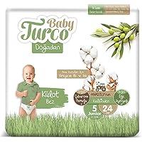 Baby Turco Doğadan Külot Bez, 5 Beden, 24 Adet