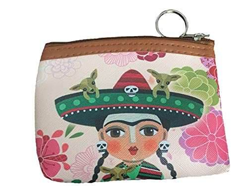 Amazon.com: Frida Inspired - Monedero para mujer, talla ...