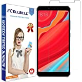 CELLBELL Silicone Tempered Glass Screen Protector with Extra Installation Kit for Xiaomi Redmi Y2 (Redmi S2)