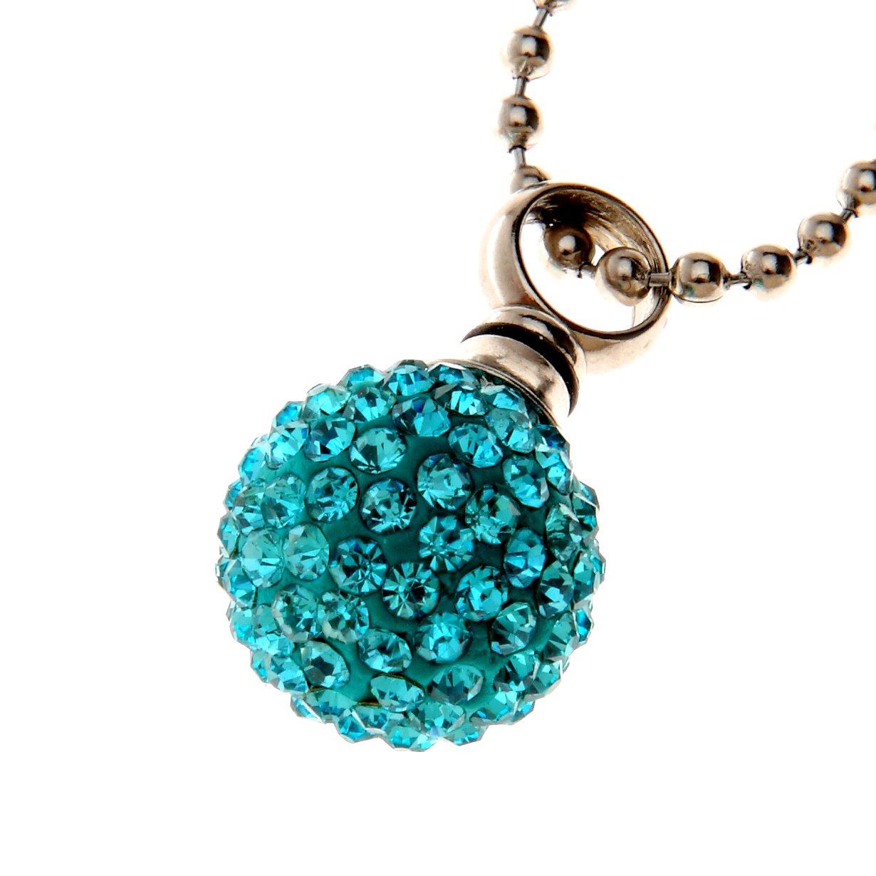 Urns UK Jewellery Ash Pendant Chelsea Design 19e with Ball Chain