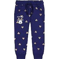 Pantalones de chándal de Color Azul Marino con Corazones Dorados Minnie Mouse Disney