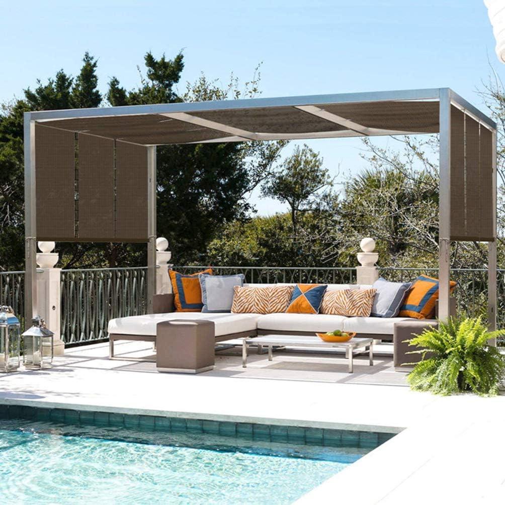 Braveheat Shop - Malla de protección solar con ojales, 90 % tela de malla con borde cortado, resistente a los rayos UV, para cubierta de plantas, invernadero, toldo de plantas, toldo, toldo,