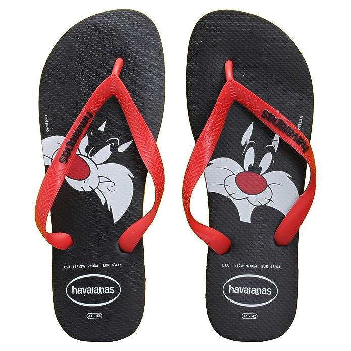 Looney Tunes, Tongs Mixte Adulte, Multicolore (Ice Grey 3498), 43/44 EU (41/42 BR)Havaianas