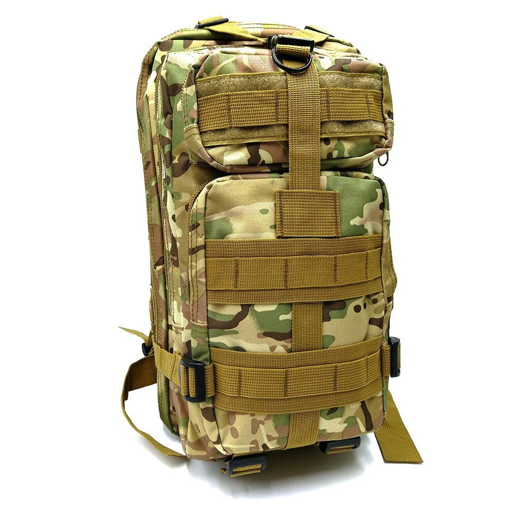 ovelur Tacticalバックパック、Hydrationバックパック、Army Assault Pack MOLLEバグアウトバッグ&スポーツカジュアルデイパックリュックサック学校、狩猟、サバイバル、キャンプ、旅行、ハイキング  CP B07BV9MWVL