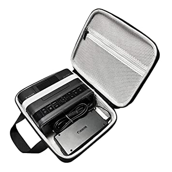 Funda Protectora de Almacenamiento para Impresora fotográfica Canon SELPHY CP1200/Canon SELPHY CP1300 Compact Photo Printer EVA Hard Travel Bag Carry ...