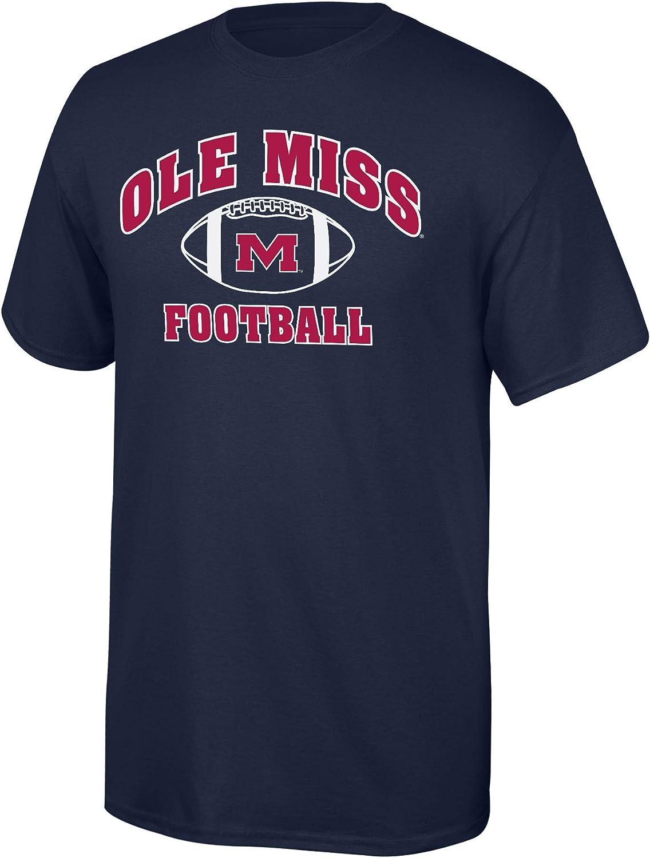 Elite Fan Shop NCAA Mens Team Color Football T-Shirt