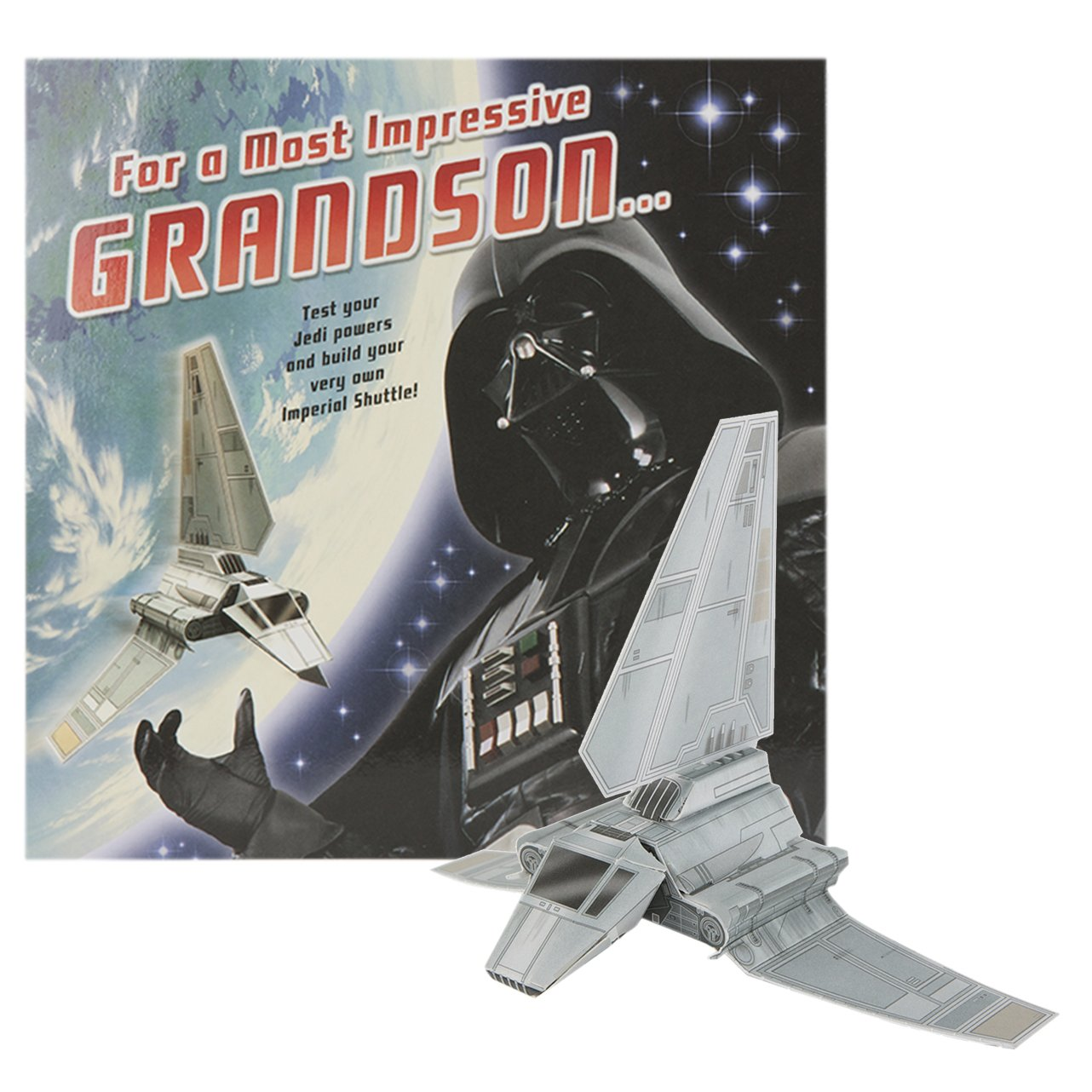 Hallmark Star Wars Birthday Card For Grandson Build Your Own – Lego Star Wars Birthday Cards