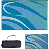 Stylish Camping Reversible Outdoor Patio/RV Camping Mat