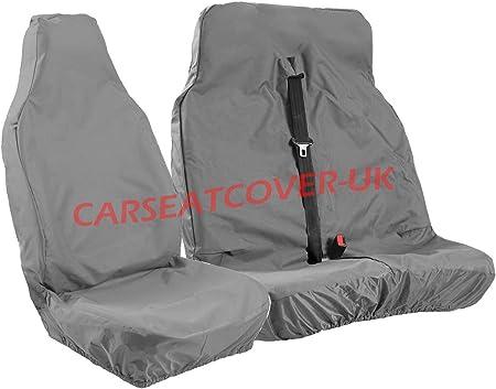 Iveco Daily 2014 Negro Impermeable a Medida Cubierta de asiento del conductor hecho en el Reino Unido
