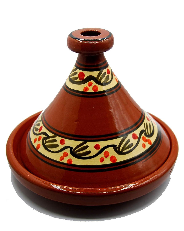 Etnico 1706191003 Tajine Tagine Casserole en Terre Cuite Couscous Plat marocain Arabe Artisanal /Ø 35 cm XL