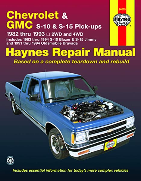 [FPER_4992]  Chevrolet S10 & GMC S15, '82'93: Haynes: 9781563921162: Amazon.com: Books | 1983 S10 2 8 Engine Wire Diagram |  | Amazon.com