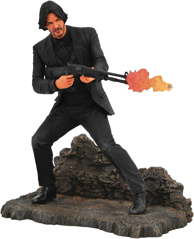 Amazon Com Diamond Select Toys John Wick Gallery Catacombs Pvc Figure Multicolor Toys Games