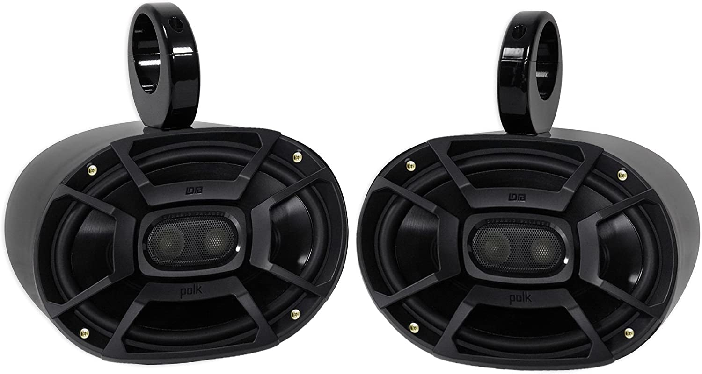 """Pair Polk Audio DB692 6X9/"""" 450 Watt Marine Boat Wakeboard Tower Speakers"""