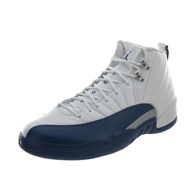 online store f1572 4faa9 Amazon.com   Jordan 12 Retro French Blue (2016)   Fashion Sneakers
