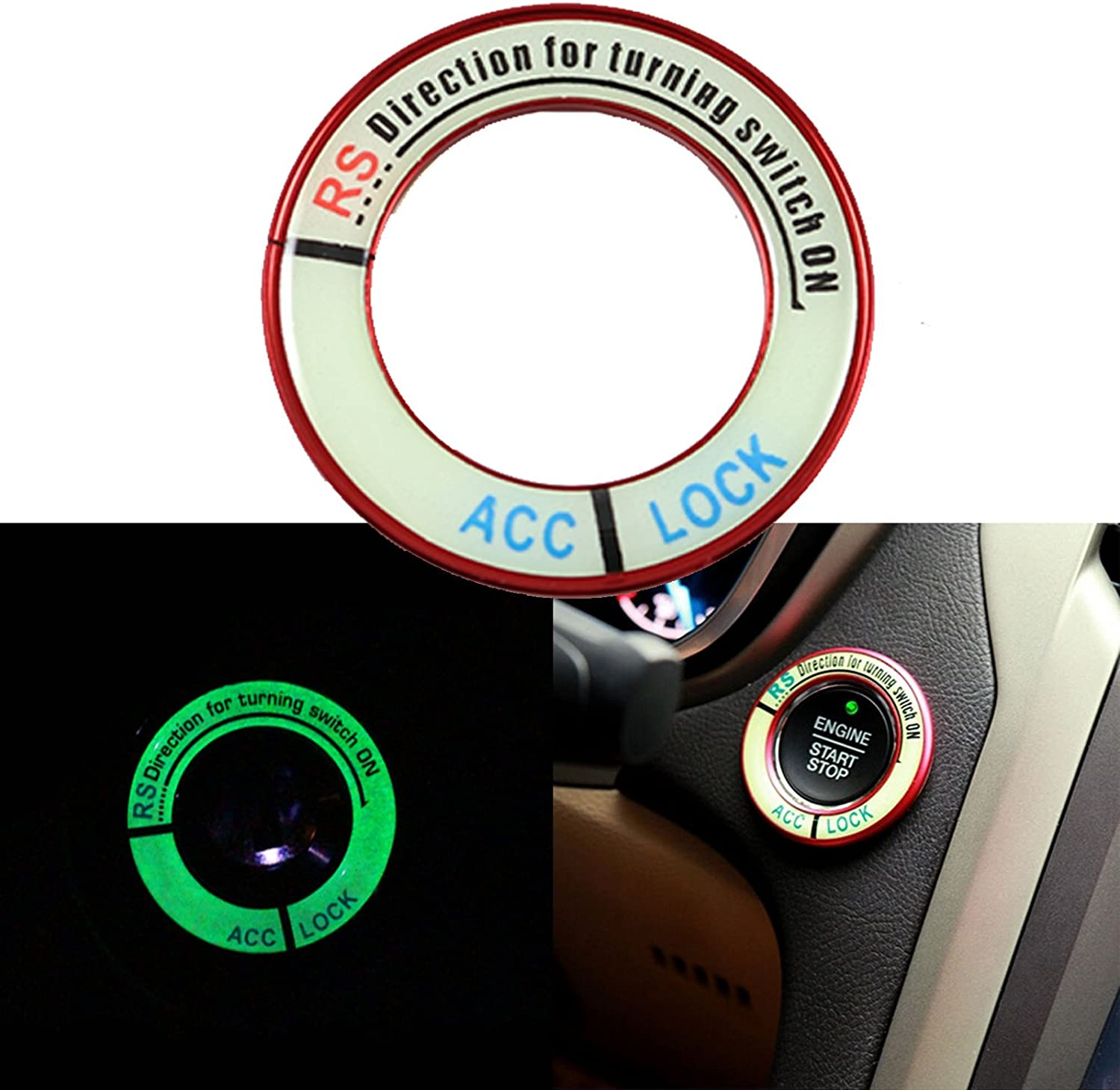Ignition Switch Start//Stop Button